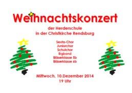 WKonzert-Plakat